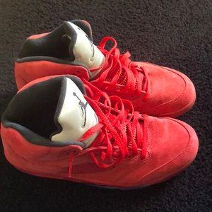 Jordan 5 Retro Red Suede